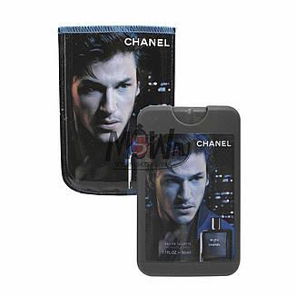 (50ml) Chanel - Bleu De Chanel Man (компактная парфюмерия в чехле), фото 2