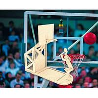 Баскетболист (сборная модель) Мир деревянных игрушек (С004)
