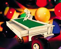 Бильярдист (сборная модель) Мир деревянных игрушек (С013)