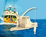 Рыболов (сборная модель) Мир деревянных игрушек (С014)