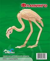 Фламинго (сборная модель) Мир деревянных игрушек (Е024)