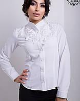 Рубашка с кружевом | Бель lzn
