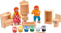 Набор для творчества Ванная комната, Мир деревянных игрушек  (Д246)