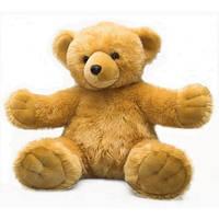 """Мягкая игрушка Медвежонок """"Обними меня"""" коричневый 30см, aurora (61281D)"""