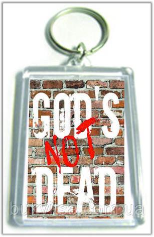 """Брелок  """"God's not dead"""", фото 2"""