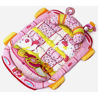 Развивающий коврик Bright Starts  Kids II  Розовый автомобиль (8819)