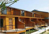 Строительство каркасных гостиниц , пансионатов по канадской технологии.Цена каркаса с монтажем по площади пола