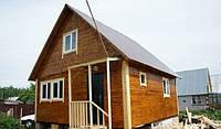 Строительство каркасных дач,бань,садовых домиков  по канадской технологии.Цена каркаса с монтажем по  полу.