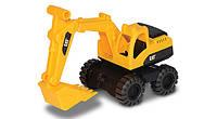 Экскаватор CAT. Мини-строительная техника 17 см. Toy-State (82015)