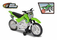 Мотоцикл Kawasaki KLX 140 Moto-Cross Bike со светом и звуком 25 см (33412)