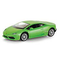 Автомодель Lamborghini Huracan LP 610-4 с инерционным механизмом Uni-Fortune, зеленый (554996-2)