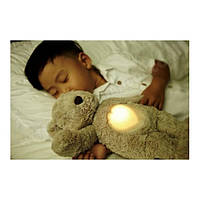 """Мягкая звуковая игрушка-ночник """"Мишка Ириска"""" Glow Cuddles Bear - Toffee (7406-ZZ)"""