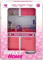 Кукольная кухня Современный дом Qun Feng Toys  (2530P)