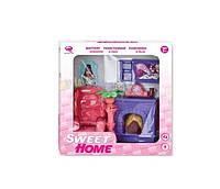 Кукольная гостиная 'Современный дом', розовая (2549Р)
