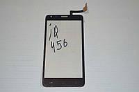 Оригинальный тачскрин / сенсор (сенсорное стекло) для Fly IQ456 Era Life 2  (черный цвет) + СКОТЧ В ПОДАРОК