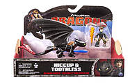 Набор из дракона и всадника серии Как приручить дракона, Иккинг и дракон Беззубик (SM66594-1)