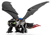 Большой дракон Беззубик де-люкс 38 см, Как приручить дракона, Spin Master (SM66602)
