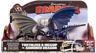 Иккинг и Беззубик против синего дракона в броне, Как приручить дракона, Spin Master (SM66599-2)