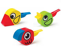 Птица свисток в ас. 3 цвета (8 шт.уп) (E1026)