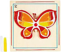 "Набор для творчества ""Прекрасная бабочка"" Hape E5121 (E5121)"