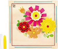"""Набор для творчества """"Цветы"""" Hape E5122 (E5122), фото 1"""