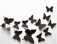 Эксклюзивные бабочки для декора черные.