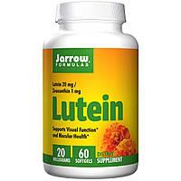 Лютеин, Jarrow Formulas, 20 мг, 60 капсул