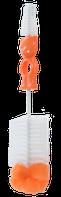 Ершик для бутылочек и сосок 2 в 1 (1601)