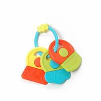Игрушка-погремушка Ключики Разноцветные Baby Team 8442 (8442)