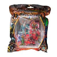ГОРМИТИ серии Gormiti CGI Набор игрушечный,  4 фигурки в пакете-сумке, в ассорт. (6 видов) (GPH02631)