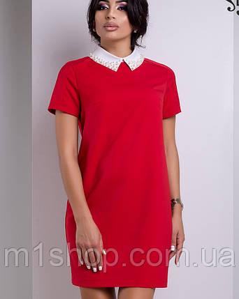 Платье с белым воротником | Дионис lzn, фото 2