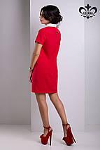 Платье с белым воротником | Дионис lzn, фото 3