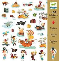 Набор наклеек 160 штук 'Пираты' (DJ08839)