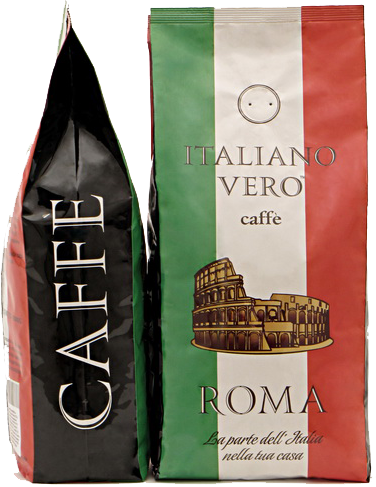 Кофе в зернах Italiano Vero Milano 1 кг.