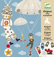 Художественный комплект-Киригами 'Мальчики с парашютом' (DJ08772)