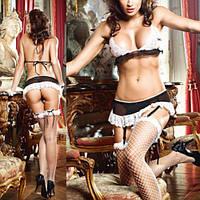 Комплект «Горничная» / Эротическое белье / Сексуальное белье / Еротична сексуальна білизна
