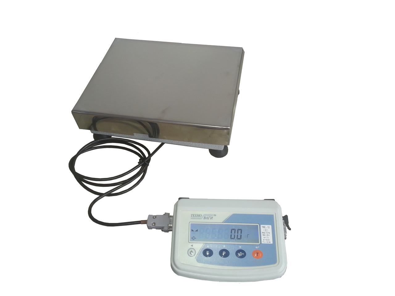 Весы лабораторные до 600 кг ТВЕ-600-10