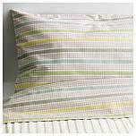 DRÖMLAND Комплект постельного белья, серый