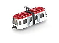 Модель Трамвайный вагончик Белый (1:87) Siku 1011 (1011)