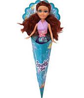 Очаровательная русалочка Роксана (25 см), Sparkle girlz. Funville, каштановые волосы, в сиреневом (FV2400066-4)