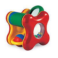 Кубик с погремушкой, игрушка для развития, Tolo (89360)