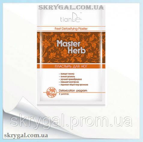 Пластырь для ног детоксикационный Master Herb 2уп. по  2 шт.