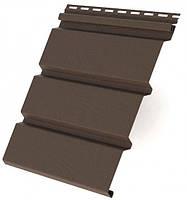 Панель Айдахо коричневая без перфорирации 2,7м, 0,81 м2