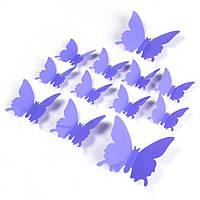 Эксклюзивные бабочки для декора сиреневый., фото 1