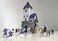 Сборная модель из картона 'Дозорная башня' серии Средневековый город (201)
