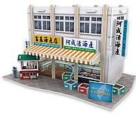 Трехмерная головоломка-конструктор, Тайвань Рыбный рынок. CubicFun (W3162h)