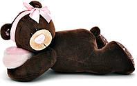 Медведица лежащая, 30 см, Choco & Milk, Orange (M001/30)