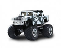 Джип микро р/у 1:43 Hummer (хаки белый) (GWT2008D-3)