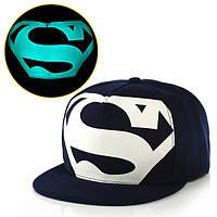 Cветящаяся темно-синяя кепка  S