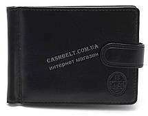 Стильный компактный мужской зажим для денег  P.T.K. art. COF 1014 черный